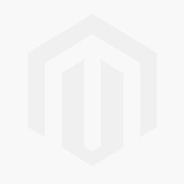 Classic Round Initial Braille Necklace - Gold Plated