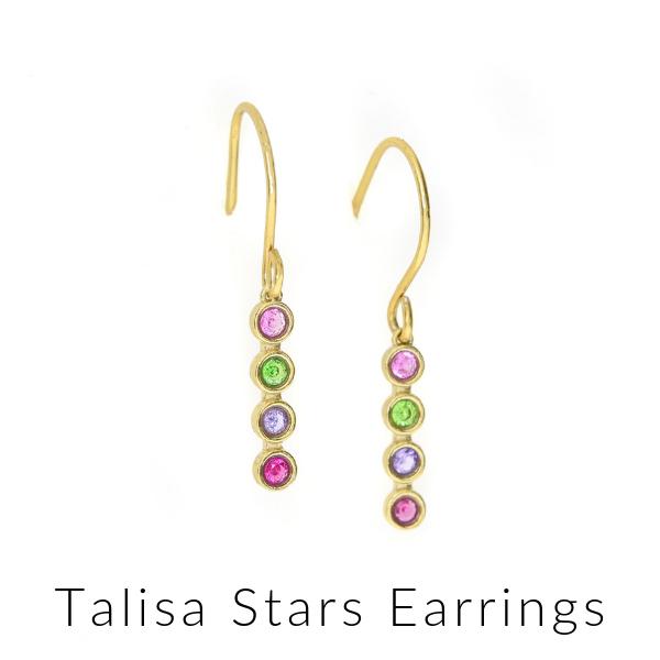 Talisa stars earrings