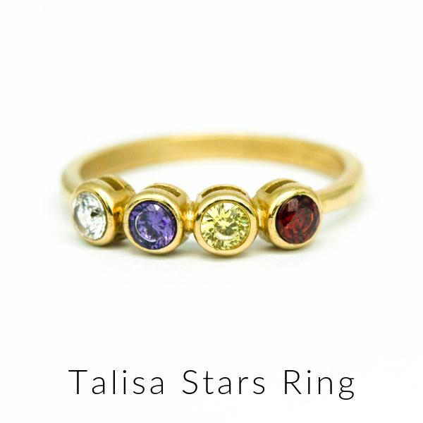 Talisa stars ring