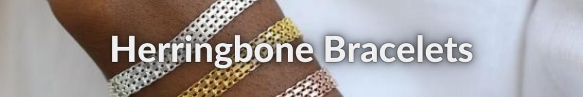 Herringbone Bracelets by Braillo